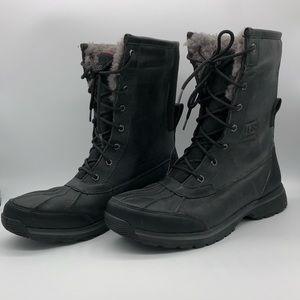 UGG Rudyard Waterproof Snow Boots Black Sz 11